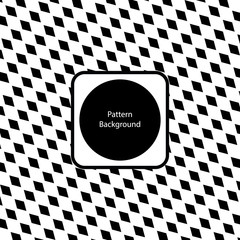 Vector Pattern Or Abstract Background, Modern Style With Black And White Color