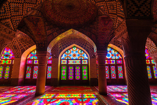 Nasir ol Molk Mosque is a traditional mosque in Shiraz, Iran. It is known as Masjed-e Naseer ol Molk in Persian and was built in 1876 - 1888.