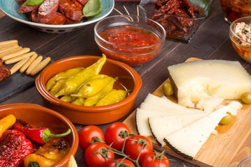 Mediterranean snacks - tapas