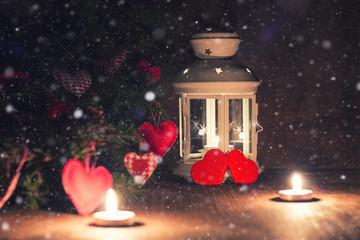 lighting candle tree