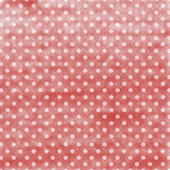 Beautiful white dots on watercolor paper background.