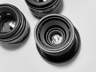 image of the old Soviet lenses