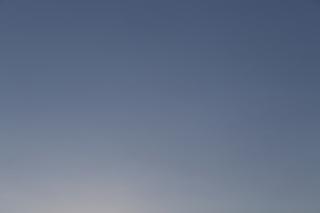 Clear cloudless grey sky horizontal natural gradient