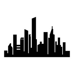 city silhouette icon