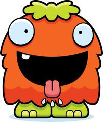 Hungry Cartoon Fluffy Monster