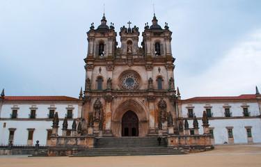 Portogallo, 30/03/2012: il monastero medievale cattolico romano di Alcobaca, fondato nel 1153 dal primo re portoghese, Alfonso I, e luogo simbolico per tutti i successivi re del Portogallo
