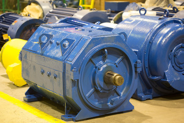 electric motor rotor of stock.