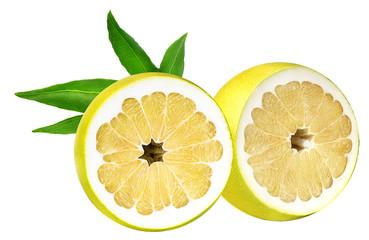 Pamela tropical fruit on a white