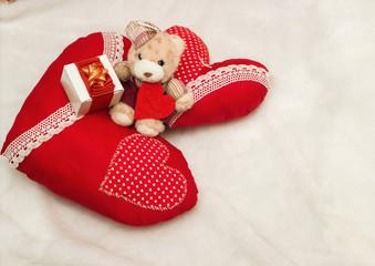 Handmade jewelry on Valentine's Day