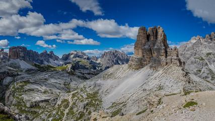 Rock formations, Dolomoites, Italy, Europe
