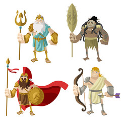 four great warriors
