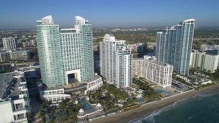 Aerial photo of the Westin Diplomat Hollywood Beach FL,USA