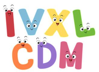 Mascot Roman Numerals
