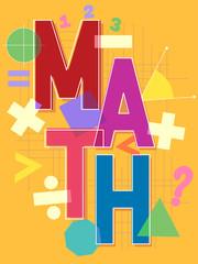 Math Lettering Design