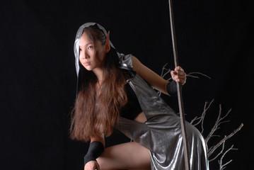 fairy girl elf warrior