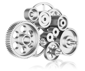 Mechanism of gears.
