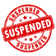 Suspended vector round stamp