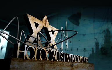 Holocaust memorial day symbol