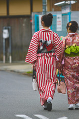 Traditional Wear Japanese Woman