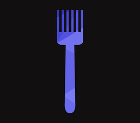 icon fork