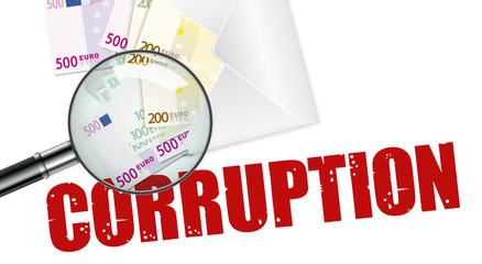 Corruption - Fraude - Enquête - Billets de banque
