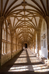 Cloister at Wells Cathedral