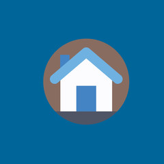 home icon flat disign