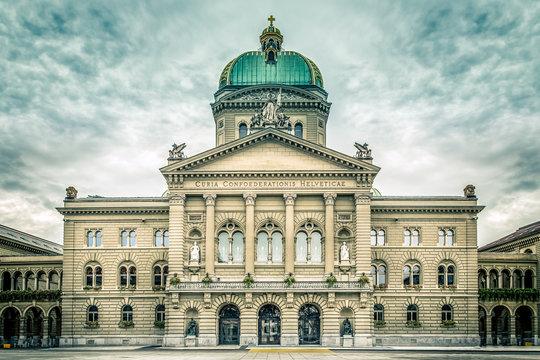 Bundeshaus, Bern, Switzerland