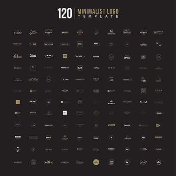 Minimalist Logo template  pack