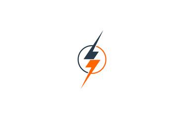 lightning icon logo
