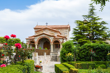 Monastery church in Greece