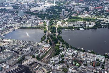 Hamburg - Germany Panorama from above