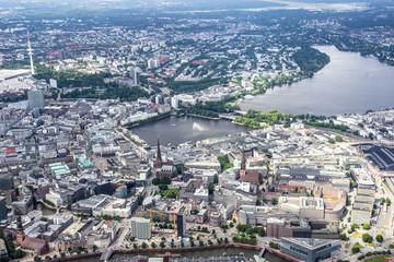 Hamburg - Germany - Panorama from above