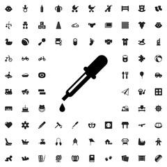 pipette icon illustration