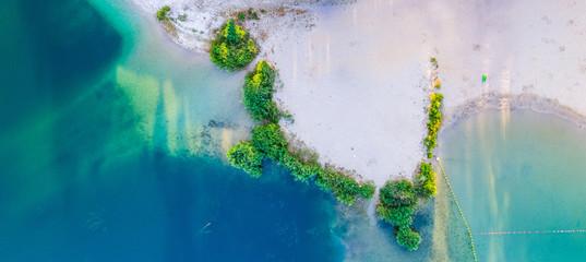Mauritius - beautiful beach panoramic view