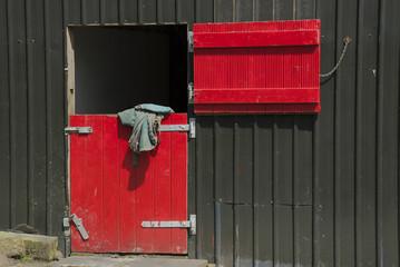 Red Stable Doors.