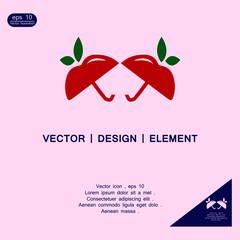 fruit umbrella logo