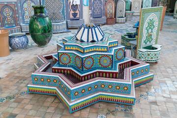 morocco fountain