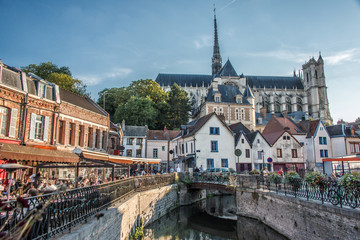 Amiens, Cathédrale et restaurants