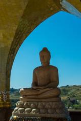 Keuken foto achterwand Boeddha Buddha statue