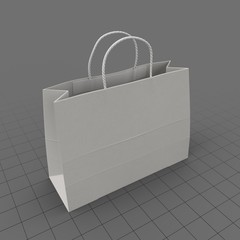 Bag Wire Handled Wide