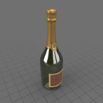 Bottle Champagne 01