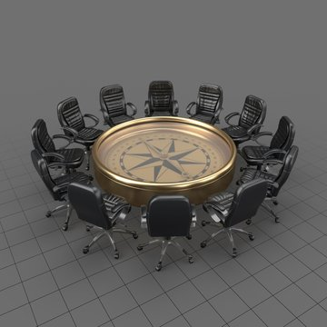 Compass Round Table