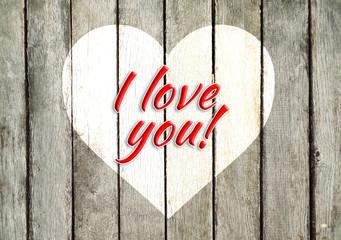 i love you, kocham cię