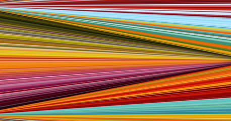 Horizontal colorful stripes abstract background, stretched pixels effect