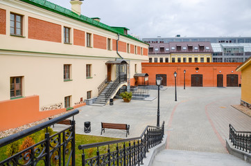 The picturesque old town in Minsk