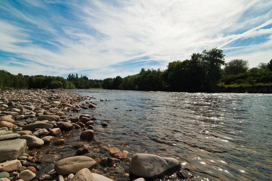 The river Spey in Scotland