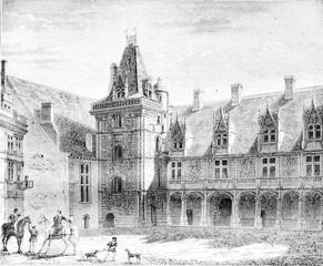 Renaissance, Chateau de Blois, Partly built under Louis XII, vin