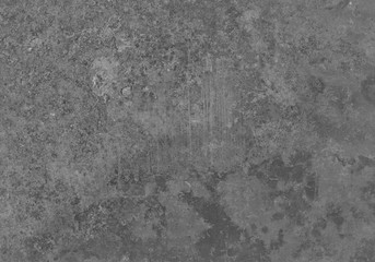 Aged grunge gray metal texture. Old iron background