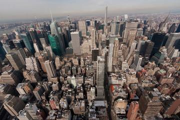 New York von Oben - Aussicht vom Empire State Building